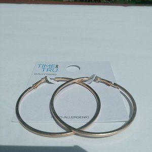 Jewelry - Rose Gold Hoop Earrings
